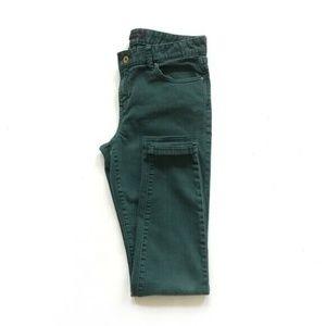 Tommy Hilfiger Dark Green Skinny Jeans :271